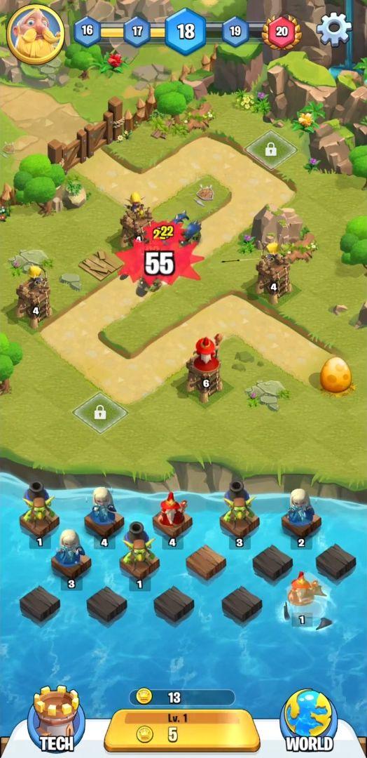Kingdom Guard скриншот 1