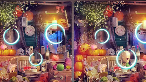 Juegos de fiestas Find the difference Halloween: Spot differences en español