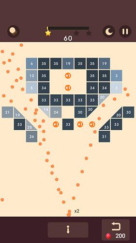 Logikspiele Bricks n balls für das Smartphone