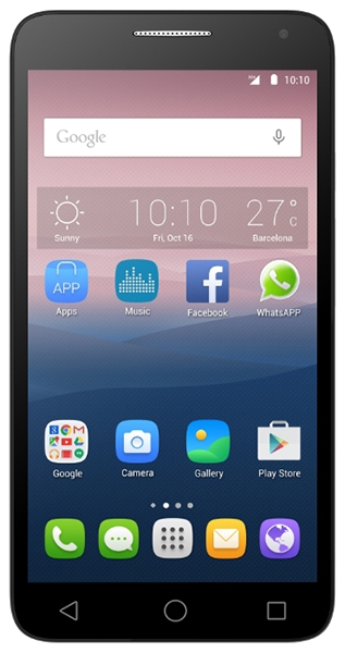 Alcatel One Touch POP 3 5025D apps
