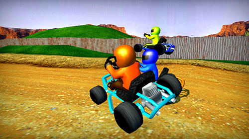 Rush kart racing 3D für Android