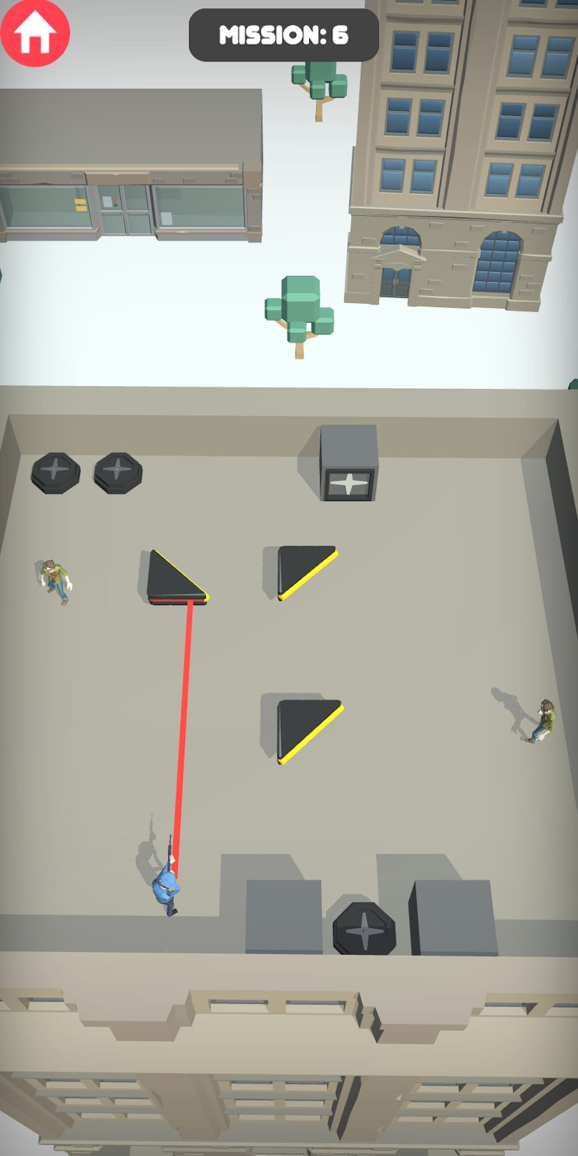 Agent Shot 3D - Cop shooting and chasing game screenshot 1