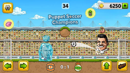 Puppet soccer champions für Android