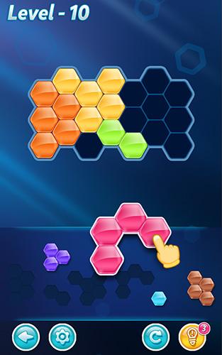die Blöcke Block! Hexa puzzle auf Deutsch