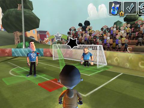 Captura de pantalla Estrategia de fútbol en iPhone