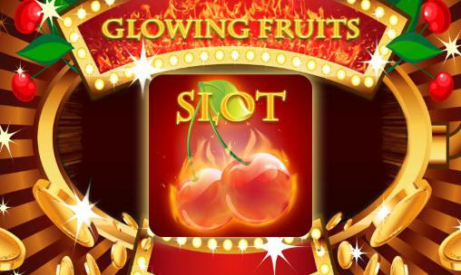 Glowing fruits slot ícone