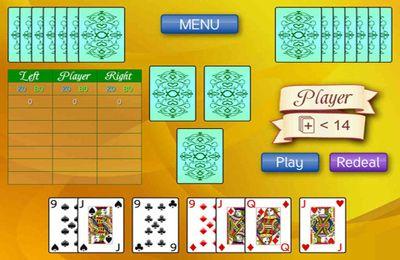 Screenshot Card game 1000 on iPhone