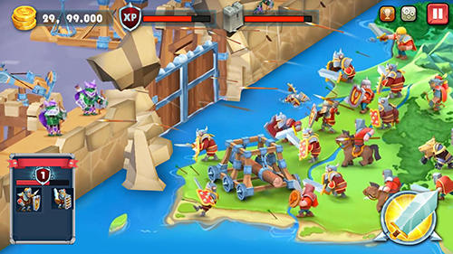 Castle defense: Soldier tower defense strategy game Screenshot