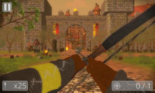 Action Total medieval war: Archer 3D für das Smartphone
