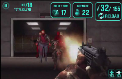 Screenshot Gun Zombie : Hell Gate on iPhone