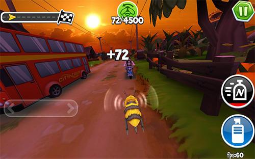Arcade Arcade bugs fly für das Smartphone
