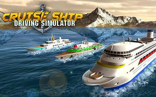 Cruise ship driving racer Screenshot