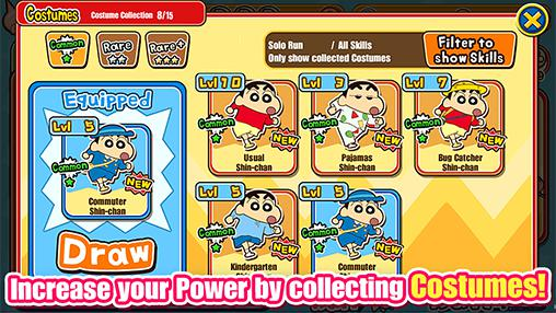 Crayon Shin-chan: Storm called! Flaming Kasukabe runner!! für Android