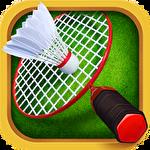 Badminton star 2 Symbol