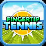 Fingertip tennis Symbol