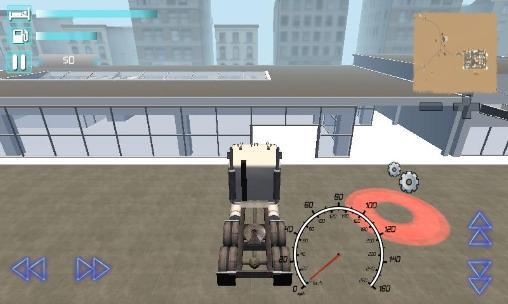 Truck driver 3D: Extreme roads auf Deutsch