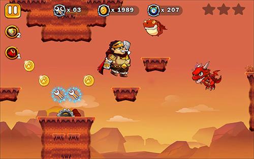 Super Arthur adventures run Screenshot