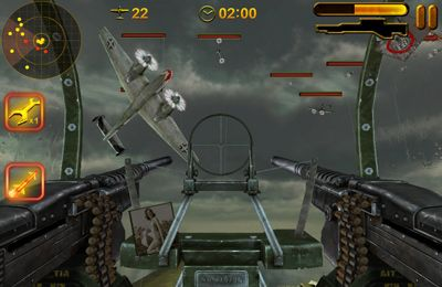 Screenshot Bomber-Bordschütze auf dem iPhone