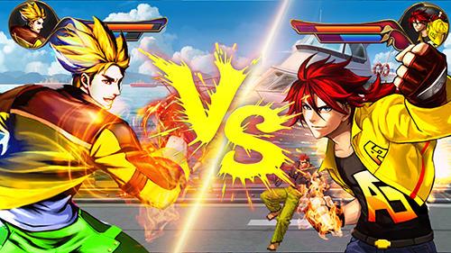 Luchas The king of kung fu fighting para teléfono inteligente