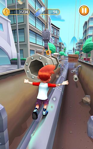 Arcade-Spiele Bus rush 2 für das Smartphone
