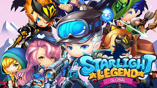 Starlight legend global: Mobile MMO RPG captura de tela 1