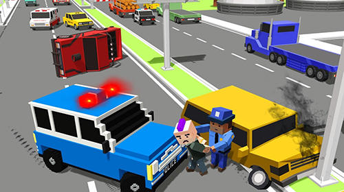 Police hero rescue: San Andreas gangster COP chase for Android