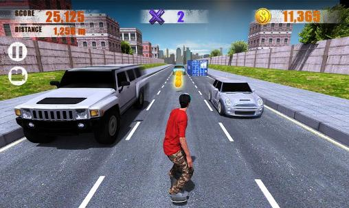 Street skater 3D Screenshot