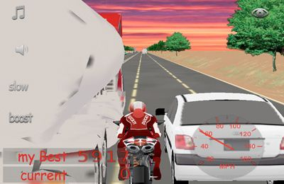 El motorista arriesgado para iPhone gratis