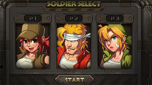 Metal slug XX online screenshot 1