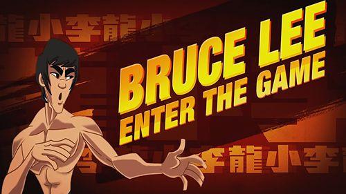 логотип Брюс Лі: Гра почалася