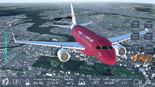 Flugsimulatoren Pro flight simulator NY auf Deutsch