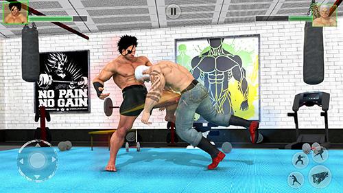 Kampfspiele Bodybuilder fighting club 2019 für das Smartphone
