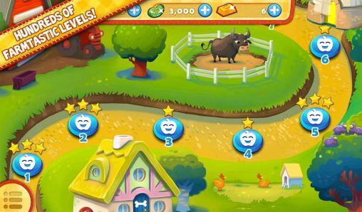 Tres en raya Farm heroes saga en español
