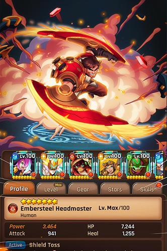 Lightslinger heroes: Puzzle RPG для Android