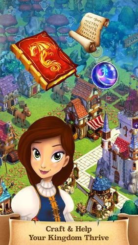 Castle story: Winter screenshots