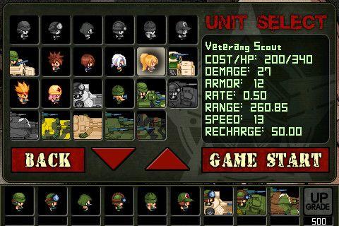 Screenshot Armee: Kriegs Abwehr auf dem iPhone