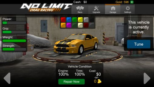 No limit drag racing para Android