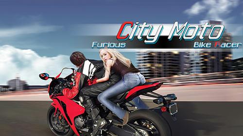 Furious city мoto bike racer Screenshot