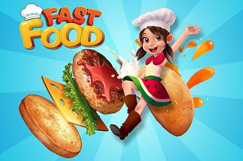 логотип Фаст-фуд повар