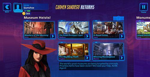 Screenshot Carmen Sandiego kehrt zurück auf dem iPhone