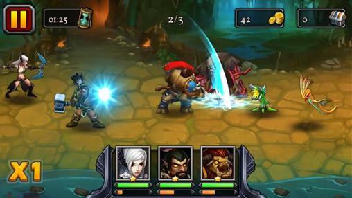 Heroes of the alpha arena screenshot 1