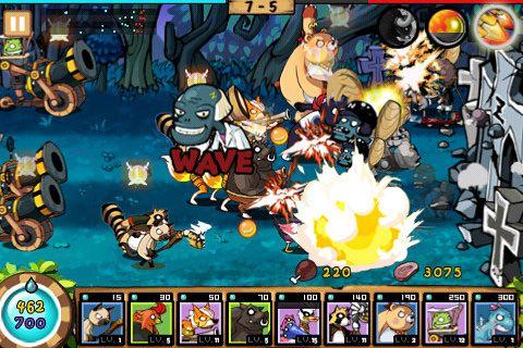 Screenshot 9 Helden Abwehr: Zombie Invasion auf dem iPhone