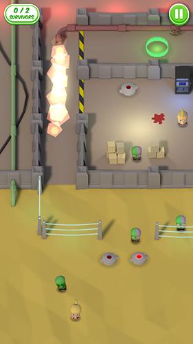 Arcade-Spiele Balls of the dead für das Smartphone