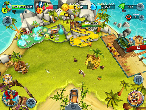 Tropical wars screenshot 2