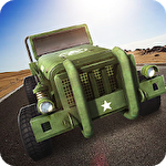 Off Road 4x4: Hill Buggy Rennen Symbol