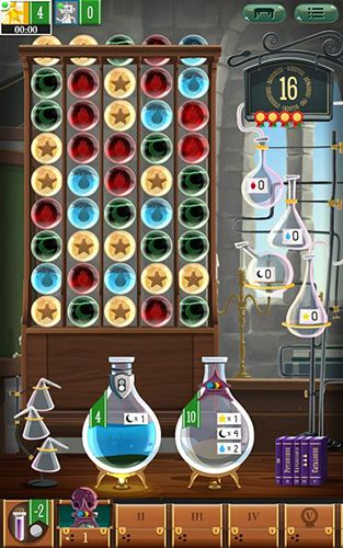 Puzzle games Potion explosion in English