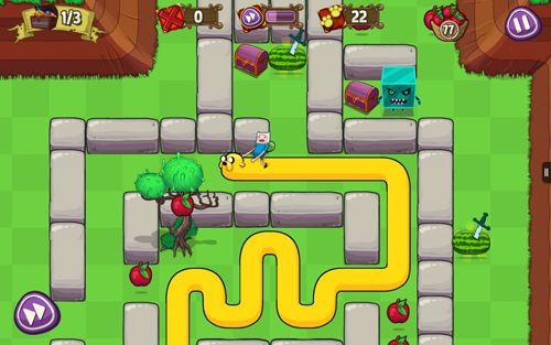 Arcade-Spiele: Lade Adventure Time: Schatzfang auf dein Handy herunter