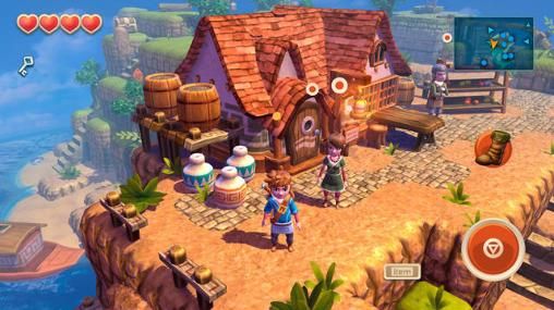 RPG-Spiele Oceanhorn: Monster of uncharted seas für das Smartphone