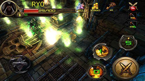 Juegos de acción: descarga Сazador de las mazmorras: Ninja asesino a tu teléfono