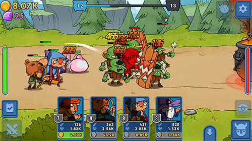 Semi heroes: Idle RPG für Android